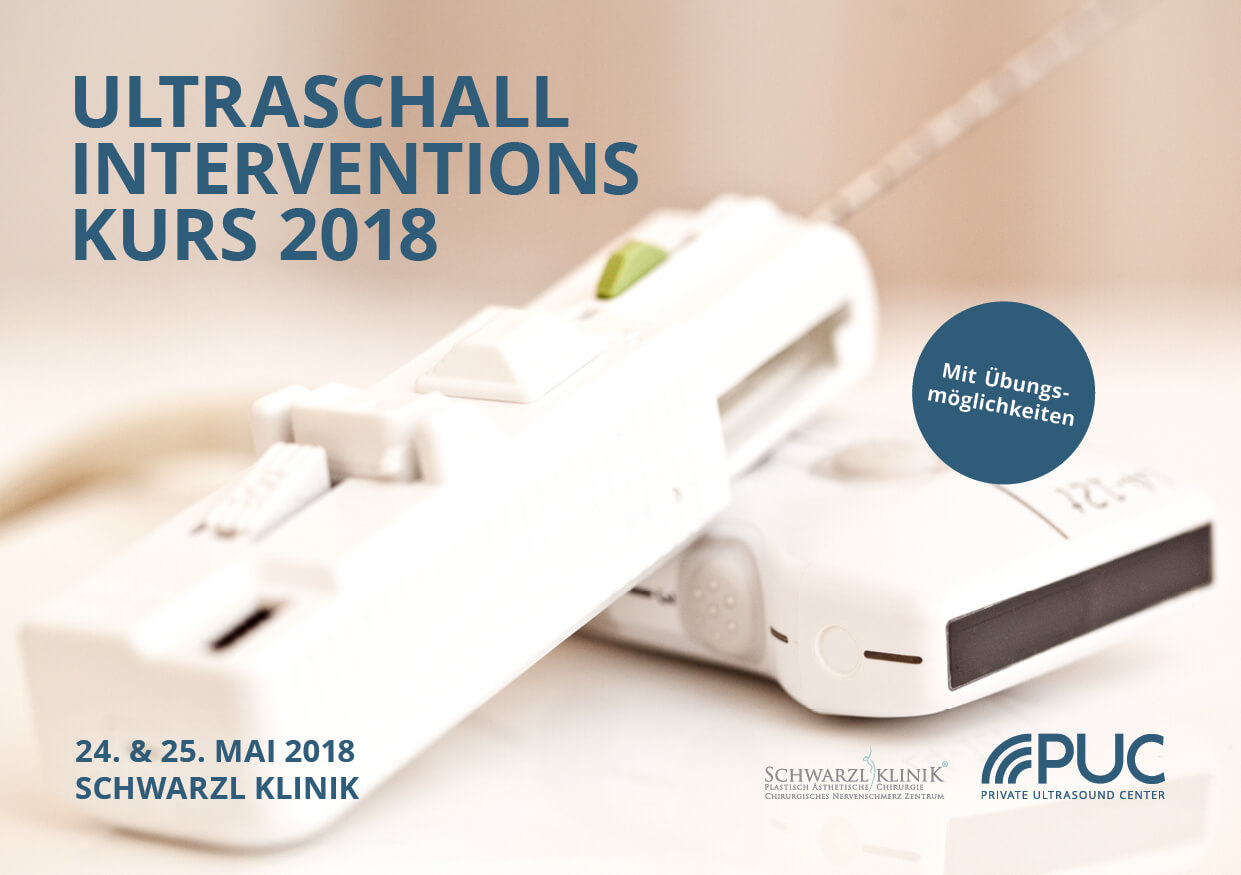 Ultraschall Interventionskurs, 24. - 25.05.2018